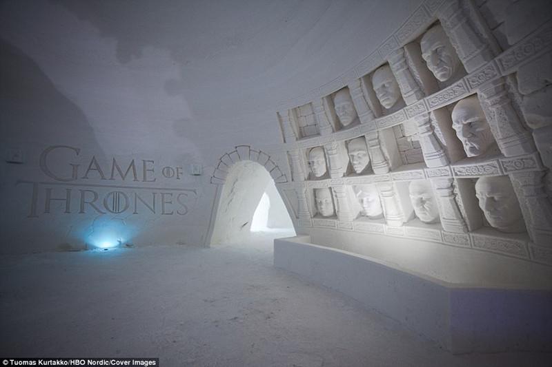 冰雪中的魔幻世界――芬兰雪村《权力的游戏》主题酒店
