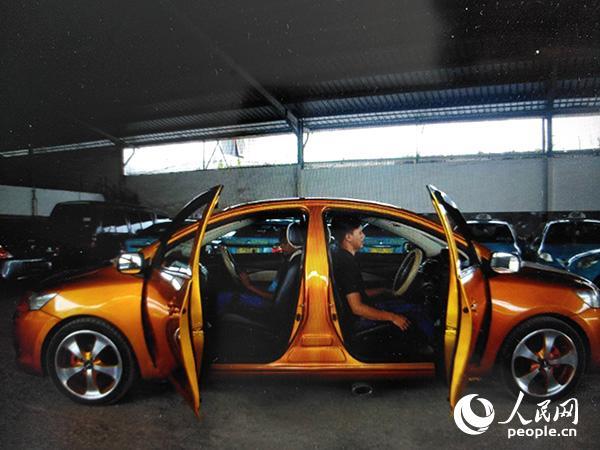 印尼造出能两头开的轿车