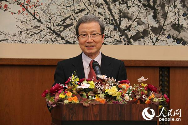 中国驻日大使程永华在致辞(许永新  摄)
