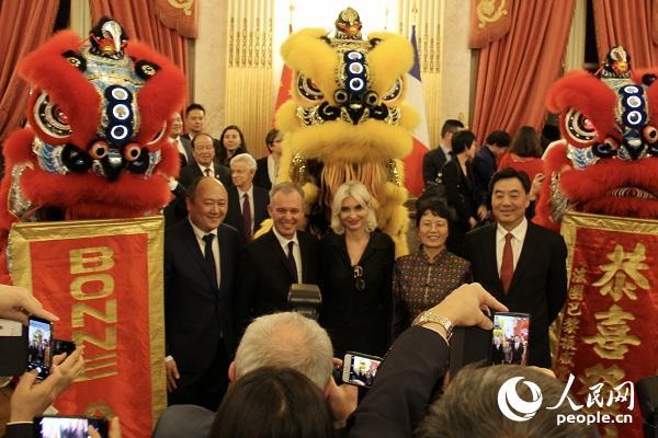 法国国民议会举办春节招待会