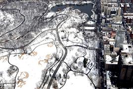 一周之内暴风雪再次袭击美国东北部