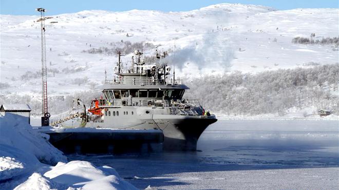 """挪威北极小镇的""""冰上丝路梦"""