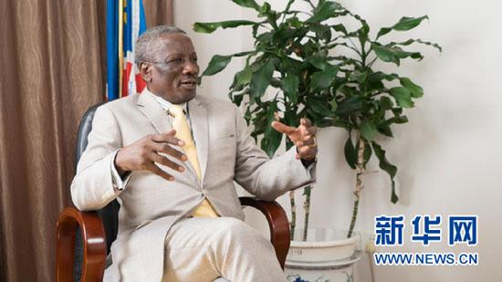 """纳米比亚驻华大使:构建""""人类命运共同体""""的中国方案让世界共赢"""