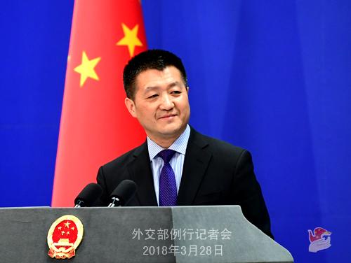 陆慷谈中朝领导人会谈对两国关系和半岛形势重要影响