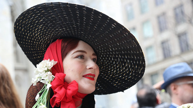 纽约帽子节喜迎春