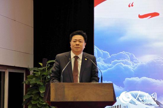 国家发展改革委西部开发司副司长肖渭明(李阿茹娜摄影)