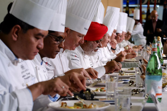 当法餐遇见广州 12个参赛国入围博古斯世界烹饪大赛亚太区选拔赛