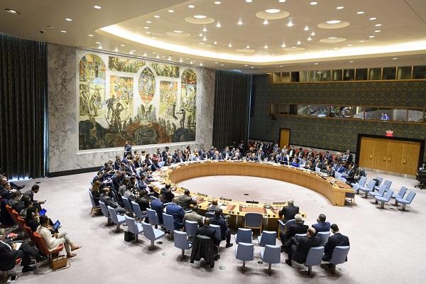 联合国安理会就美英法军事打击叙利亚问题召开紧急会议