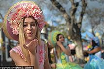 葡萄牙马德拉欢度鲜花节