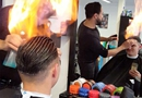 荷兰理发师造型用火烧