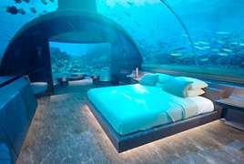 鱼儿伴你睡!首座水下别墅将在马尔代夫建