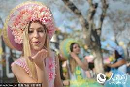 花车大巡游!葡萄牙马德拉欢度鲜花节
