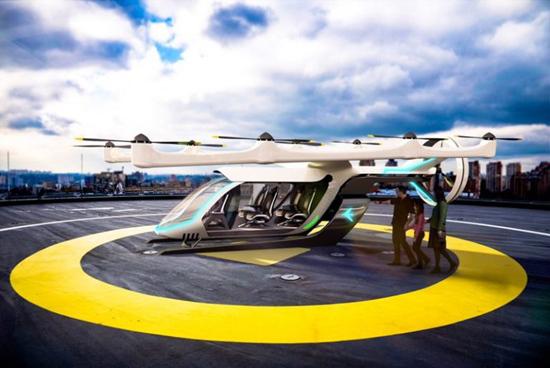 巴西航空工业公司首推纯电动空中出租车概念