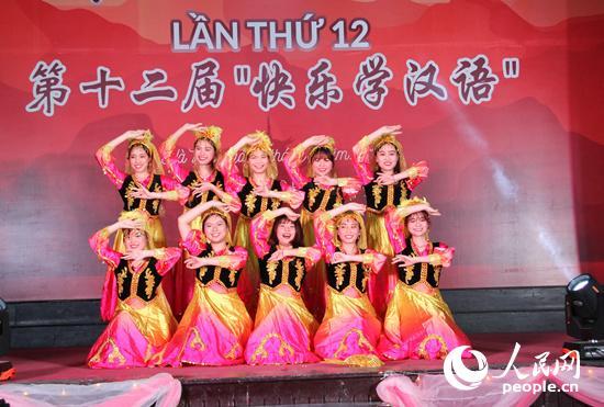 """""""快乐学汉语""""决赛在越南河内举行"""