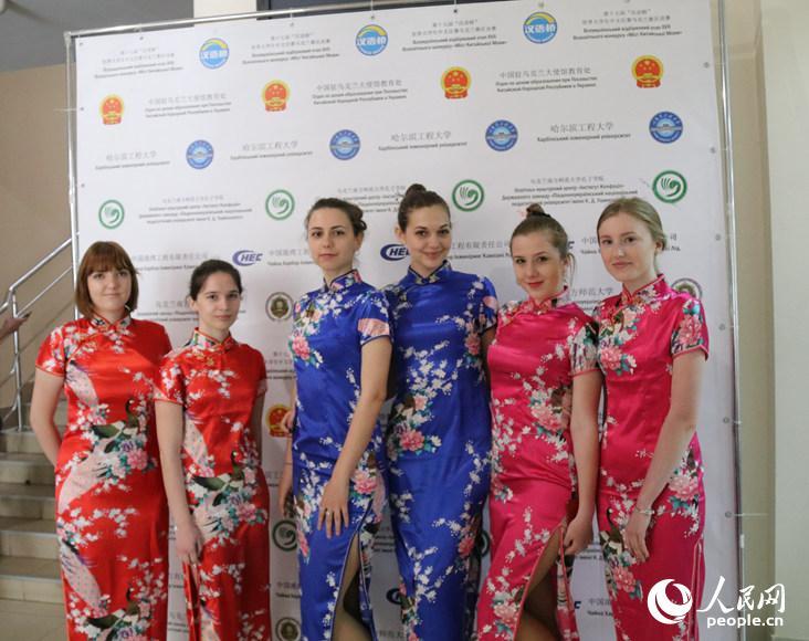 """第十七届""""汉语桥""""世界大学生中文比赛乌克兰赛区决赛11日在乌克兰敖德萨南方师范大学孔子学院举行。"""
