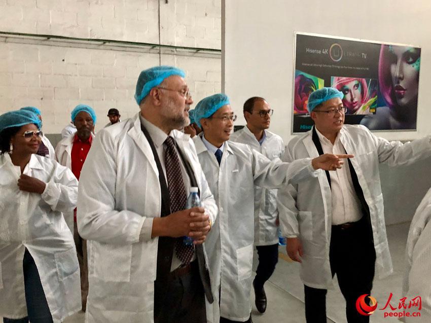 中国驻南非大使林松添:海信南非投资项目树立了中非合作共赢、共同发展的新典范