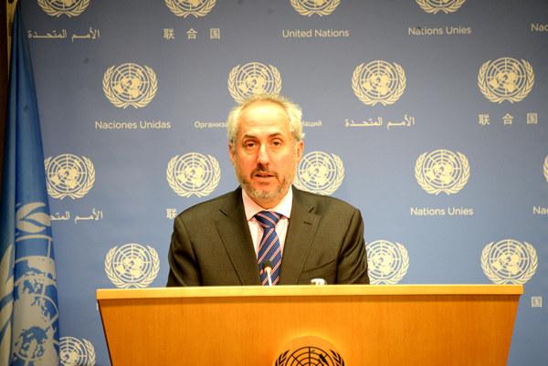 """联合国秘书长对特朗普取消""""特金会""""深表关切"""
