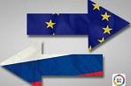 """俄罗斯与欧盟回暖分析认为,德法领导人在一周之内相继访问俄罗斯,显示俄欧关系的""""坚冰""""有望消融。【详细】"""
