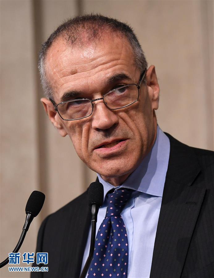 意大利总统任命候任总理并授权组阁--国际--人