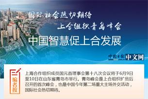 国际社会热切期待上合组织青岛峰会