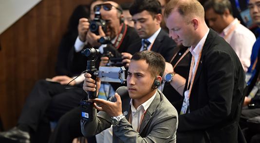 中外媒体聚焦上合组织青岛峰会