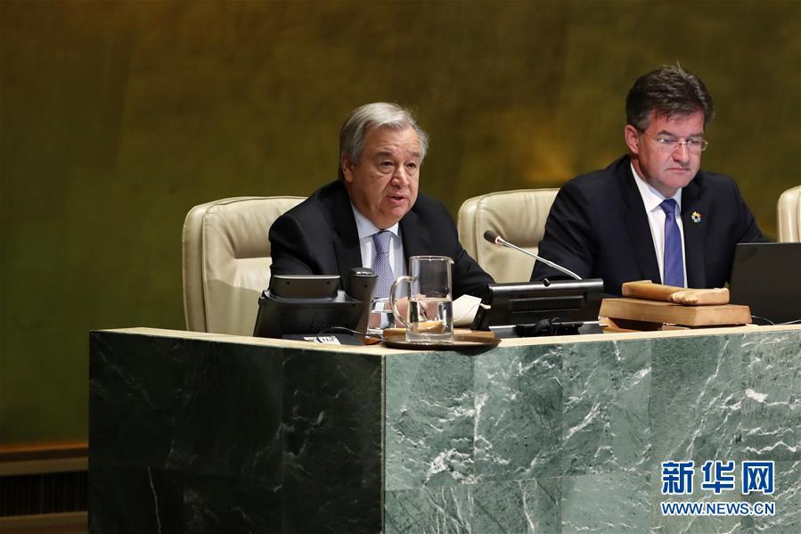 联合国秘书长呼吁防治艾滋病不懈怠