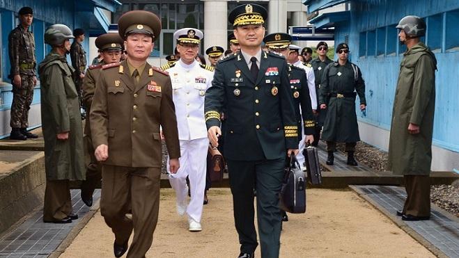 朝韩将军级会谈时隔11年后在板门店重启
