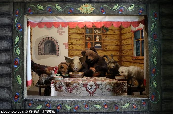 世界上唯一的动物剧院:莫斯科杜洛夫动物剧院