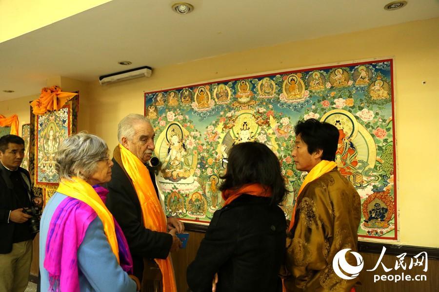 青海民族文化艺术展演在阿根廷举行