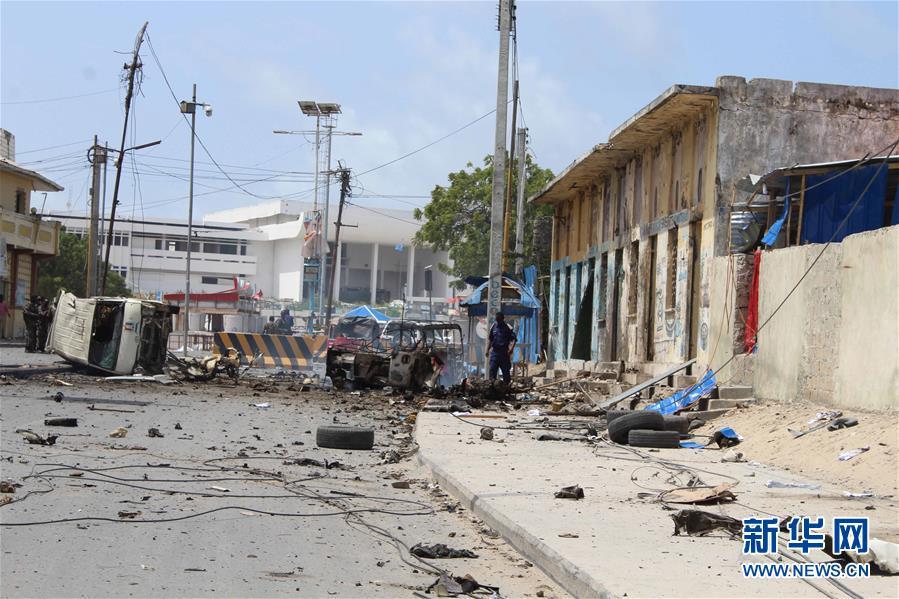 索马里首都摩加迪沙发生爆炸
