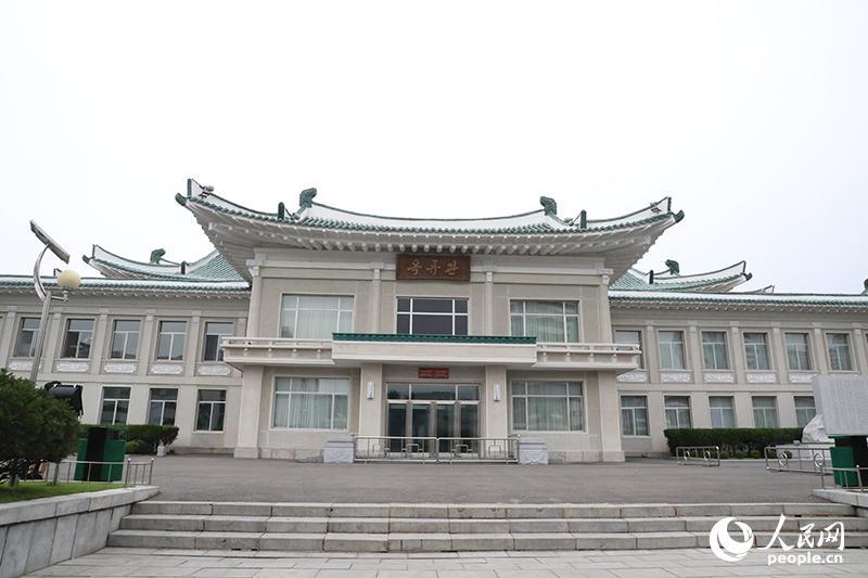 玉流馆外观 (人民网记者 莽九晨摄)