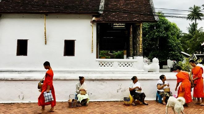 在老挝感受宁静慢生活