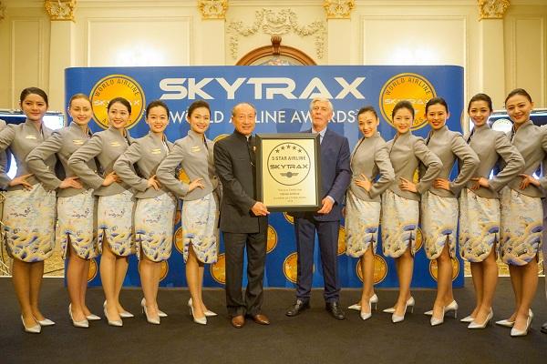 2018年Skytrax世界航空奖揭晓海航位列全球航司第八