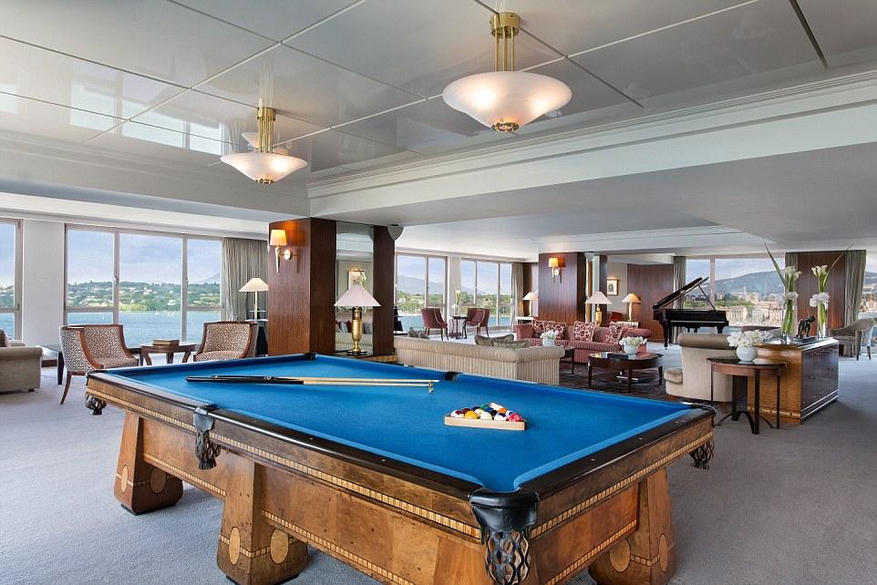 紧急警报按钮、私人厨师、防弹窗2018年世界最昂贵酒店套房