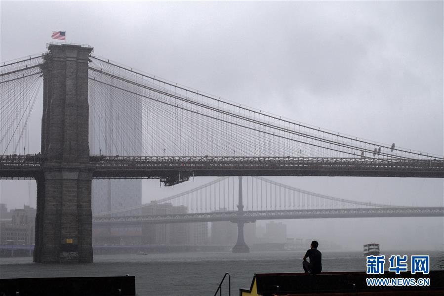 纽约遭遇暴雨天气