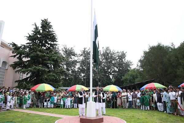 巴基斯坦驻中国大使馆举行独立日庆祝仪式