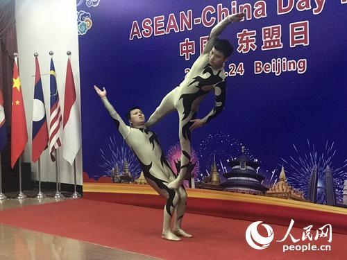 中国杂技表演《力量》