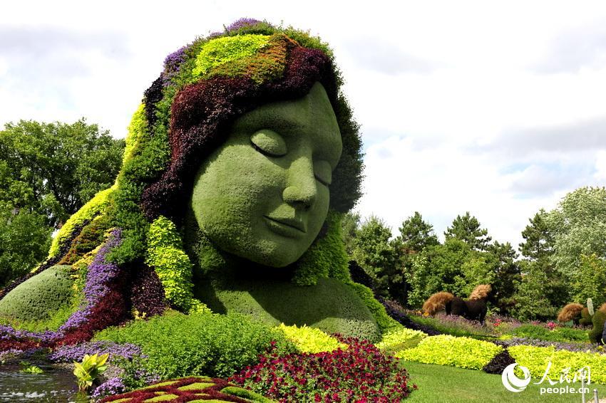加拿大加蒂诺植物雕塑展令世人惊艳