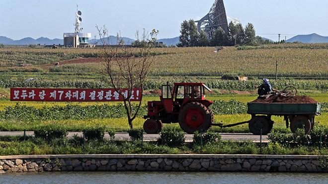 探访朝鲜蔬菜合作农场 配套生活设施齐全