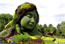 观赏加拿大加蒂诺植物雕塑展 享受视觉盛宴