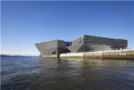设计灵感来自峭壁 苏格兰设计博物馆惊艳亮相