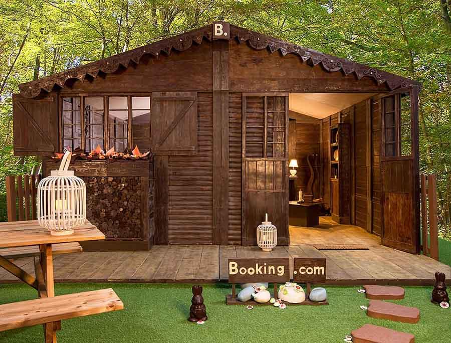甜蜜的家:由巧克力制成的度假小屋