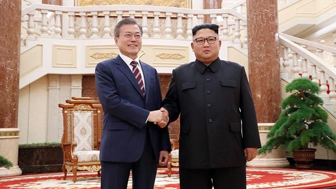 韩朝领导人签署《平壤共同宣言》