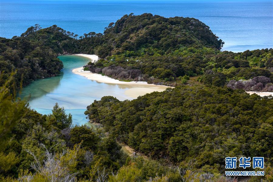 新西兰阿贝尔·塔斯曼国家公园风光