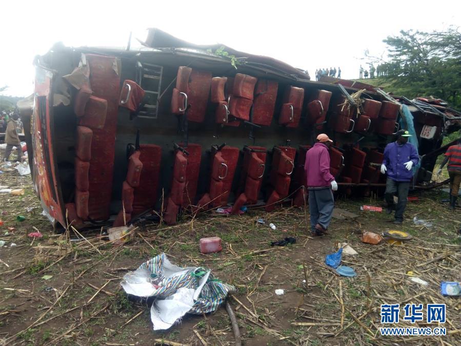 肯尼亚西部严重交通事故致50人死亡
