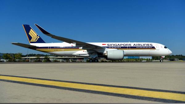 世界最长直飞航线开通 新加坡到纽约19小时