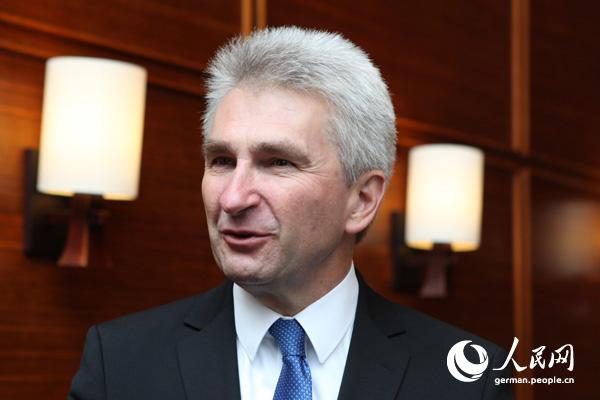 北威州经济部长谈中德关系:合作竞争携手共进