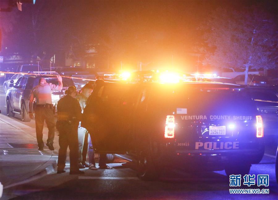 美国加州一酒吧发生枪击事件【查看原图】