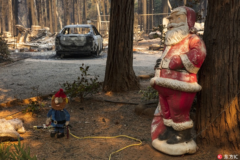 美国加州山火肆虐已致25死