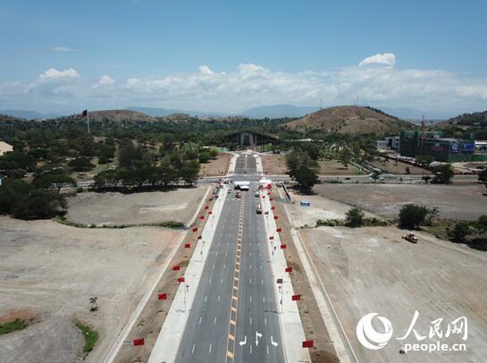 空中看APEC:航拍巴新莫尔兹比港